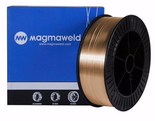alambre para soldar mig mag mma magmaweld 0.8mm x 5kg
