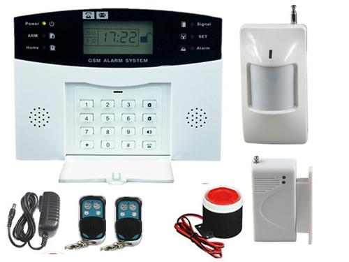 alarma casa-comercio. sistema completo. aviso a celular
