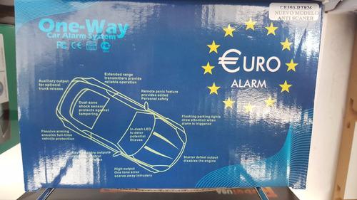 alarma euro volumetrica