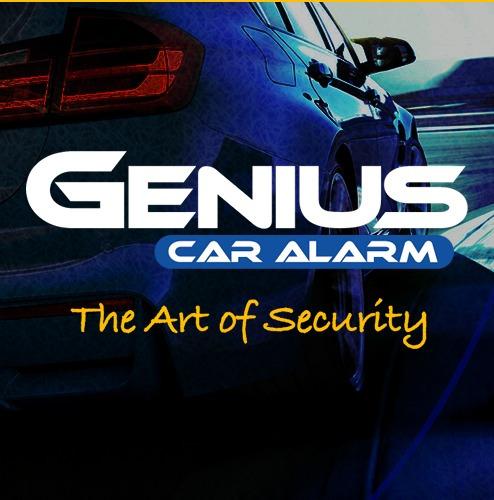 alarma genius volumetrica  controles + 4 bloqueos original