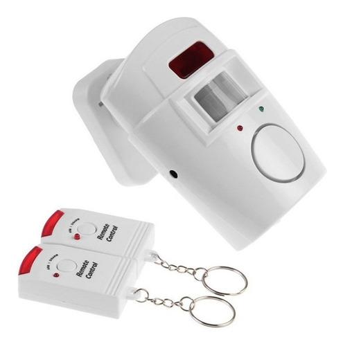 alarma inalámbrica con dos controles - electroimporta -