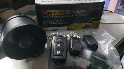 alarma para auto en promocion colocada