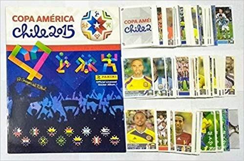 album completo copa america chile 2015 - album completo
