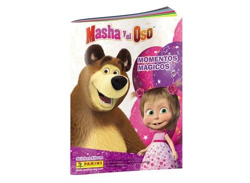 album completo masha y el oso -  figuritas panini