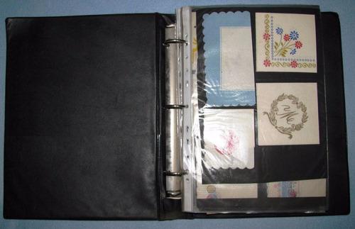 album con 126 servilletas de coleccion uruguay y del mundo
