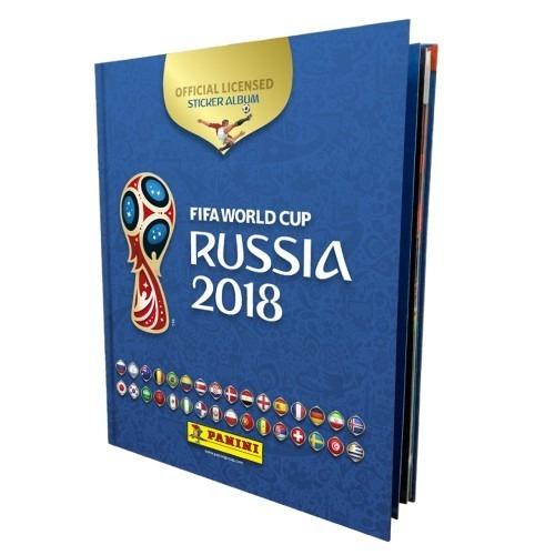 álbum tapa dura + caja de figuritas copa mundial
