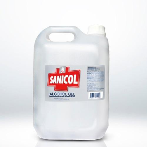 alcohol en gel bidon x 5 litros - of