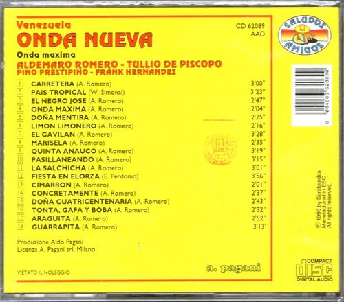 aldemaro romero - venezuela onda nueva -  cd