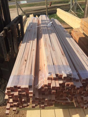 alfajia de eucalipto cepillada 1x1x2,40 madera clavador