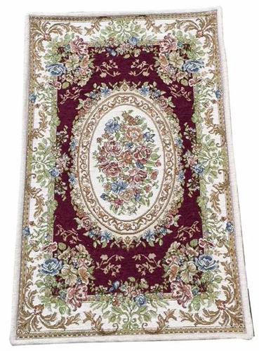 alfombra 70 x 1.20 azul living entrada estilo persa