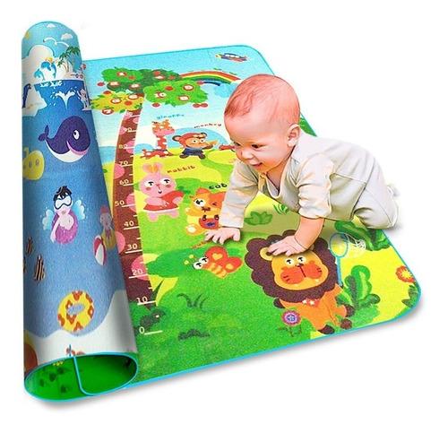 alfombra anti golpes infantil 150x180x1 cm oferta imperdible