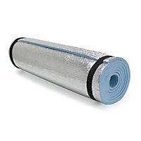 alfombra colchoneta goma eva lamina aluminio med.1.80 x 0.60
