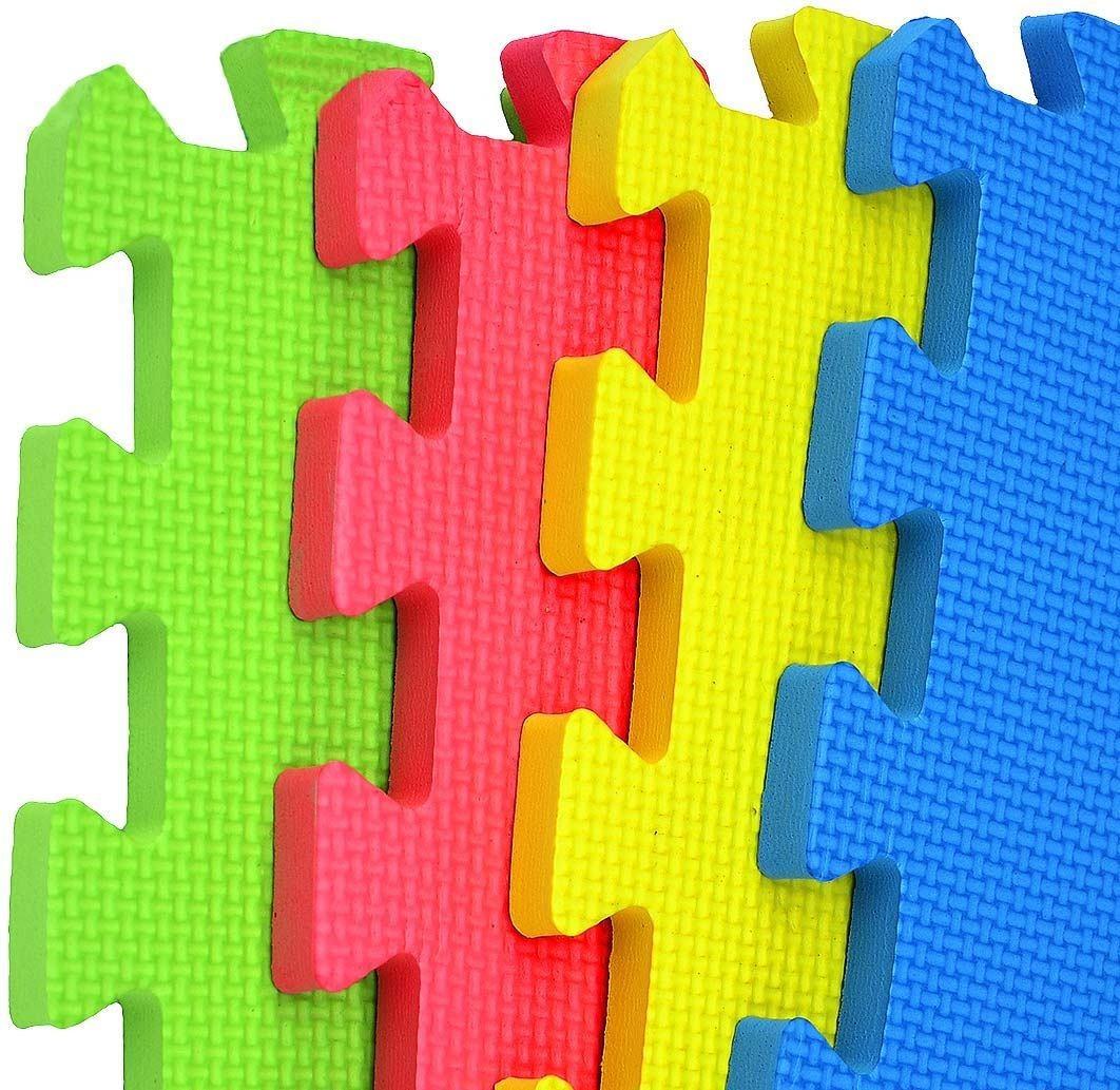Alfombra Puzzle Goma Eva 60 X 60 Cm 4 Planchas 4269 Flaber - $ 299,00 en Mercado Libre