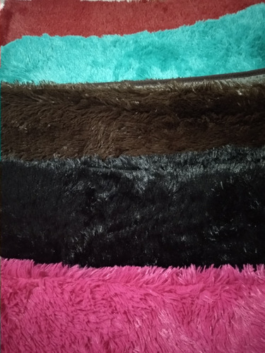 alfombras  peludas 1.40 x1.90 mt