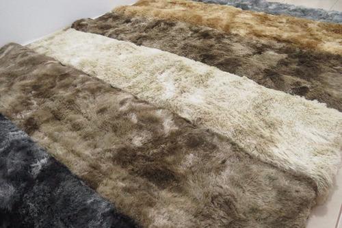 alfombras shaggy peludas originales envio gratis! 2x2,4m