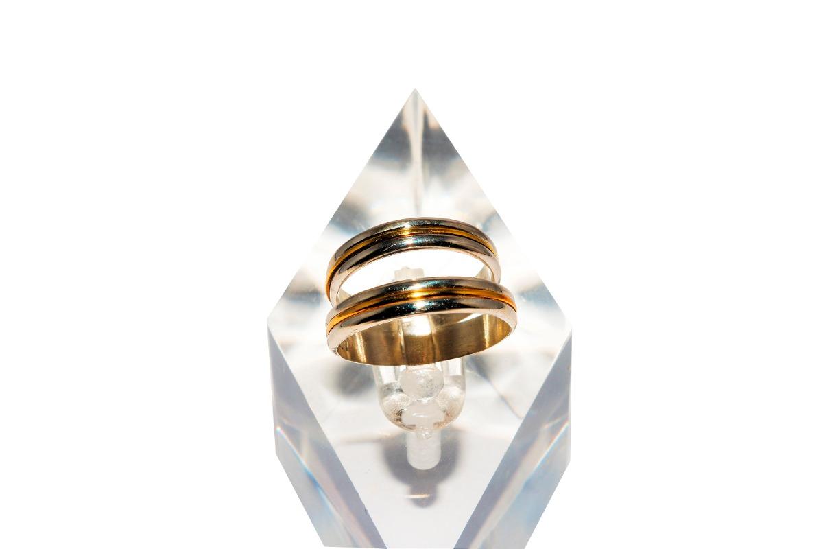 7af7d36043de alianzas de plata y oro guilad krn38. Cargando zoom.