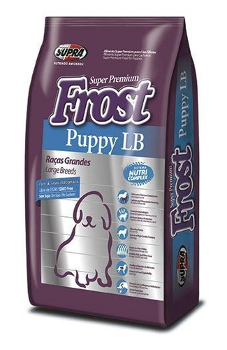 alimento frost perros 3kg