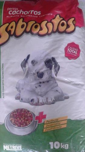 alimento perro sabrositos 20+2 kg.+ snack + envío gratis