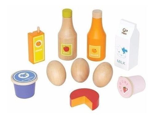alimentos de cocina juego juguete hape toys