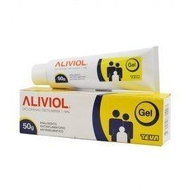 aliviol gel 50 gr pomo