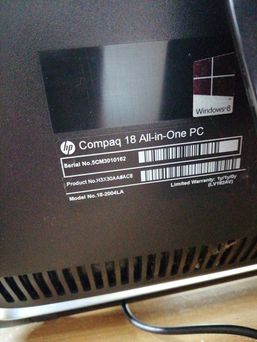 all in one. compaq
