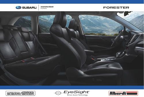 all new subaru forester 2019 2.0-s y 2.5-s eyesight