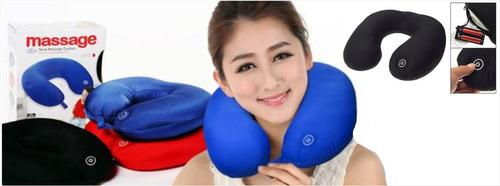 almohada cervical con masajeador de cuello neck massage