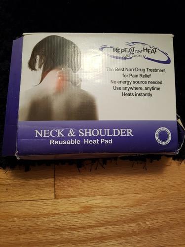 almohadilla caliente para cuello y hombros son 2 nuevas