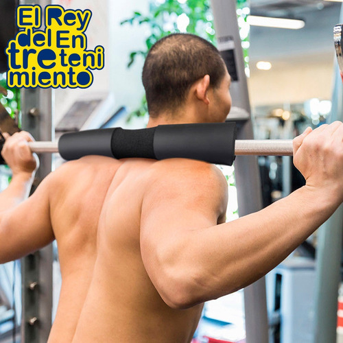 almohadilla para barra protege hombros gym crossfit - el rey