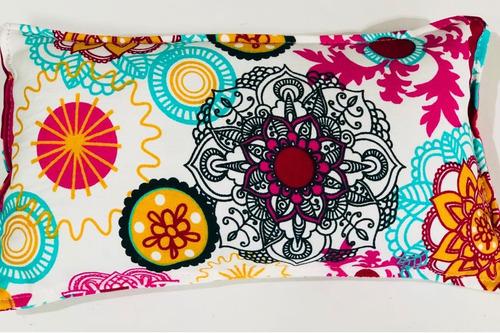 almohadillas terapéuticas - semillas mijo + flores lavanda