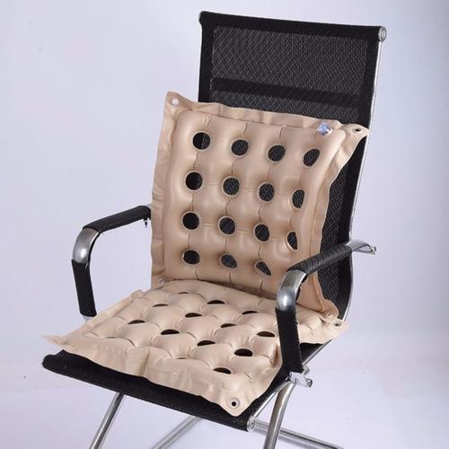 almohadón inflable asiento opción respaldo