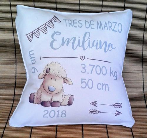 almohadon personalizado sublimado