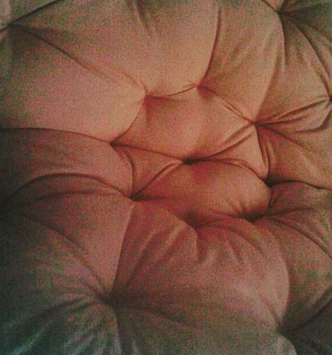 almohadones a medida tipo tatami papasan colchon ingles