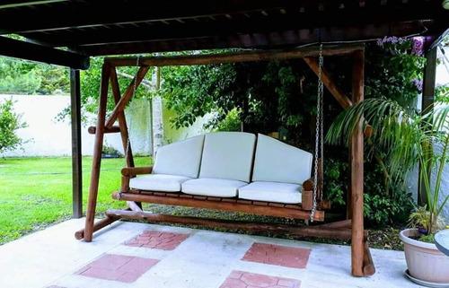 almohadones para hamaca, palet, sillones y otros en general.
