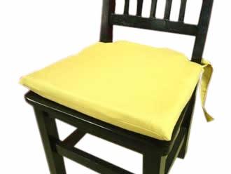 Almohadones para silla con cintas para atar 450 00 en - Almohadones para sillas ...