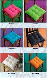 Almohadones para sillas 250 00 en mercado libre - Almohadones para sillas ...