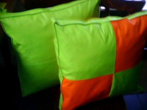 Almohadones para sillas de madera eco cuero divinos - Almohadones para sillas ...