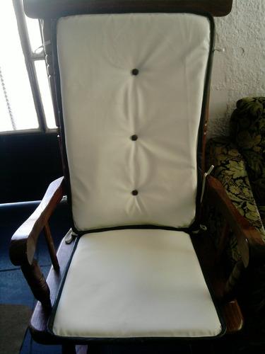 Almohadones para sillas mecedoras en eco cuero 1 - Almohadones para sillas ...