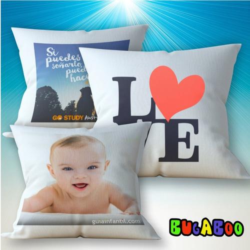 almohadones personalizados con el diseño que desees