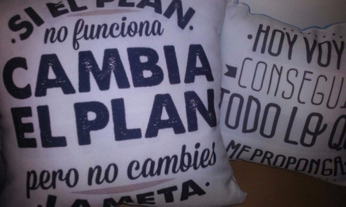 almohadones personalizados sublimados