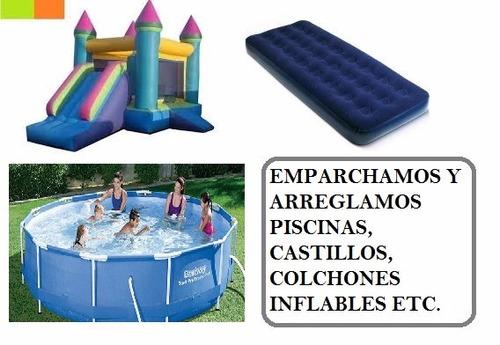 almohadones sillas lonas piscinas colchones cortinas broches