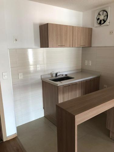 alquile de apartamento nuevo, 1 dormitorio. la blanqueada!