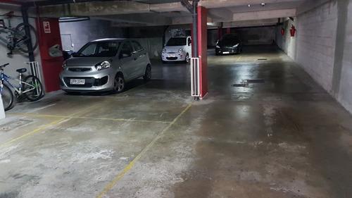 alquile divino monoambiente con garage a mts. del mar