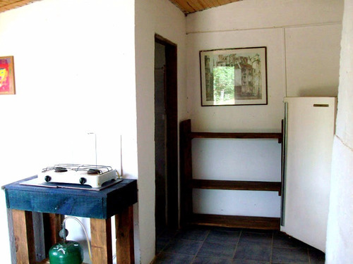 alquiler alojamiento valizas, casa, cabaña centrica para 2