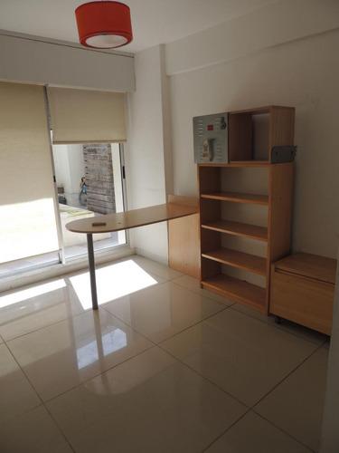alquiler apartamento 3 dormitorios, garaje, patio y piscina. rambla. equipado.