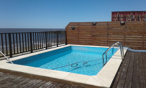 alquiler apartamento amueblado frente al mar , rambla malvin