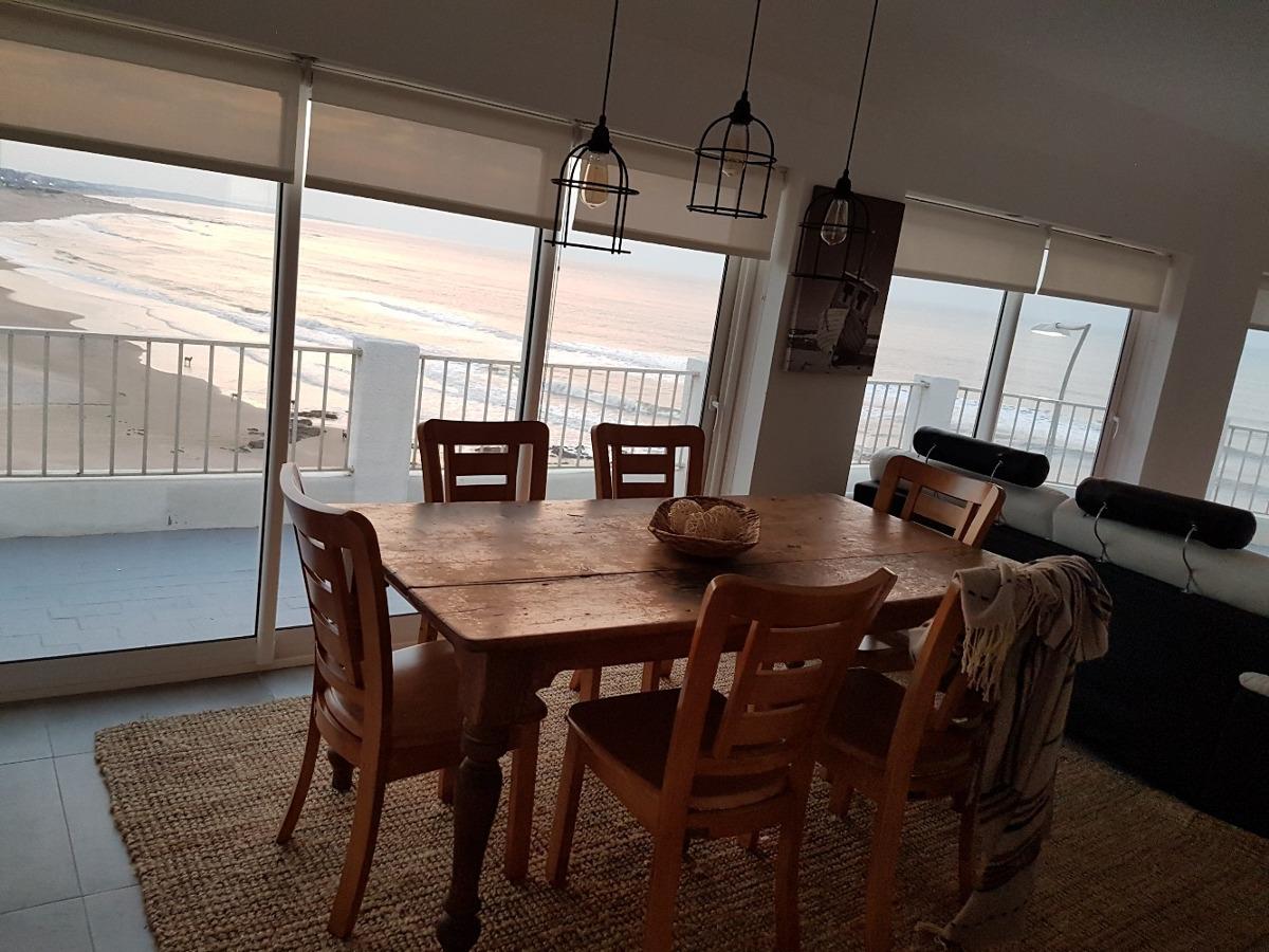 alquiler apartamento-penthouse frente al mar en la península
