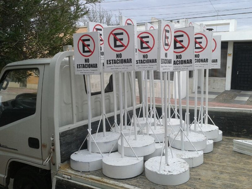 alquiler balizas flechas carteles de señalización vial