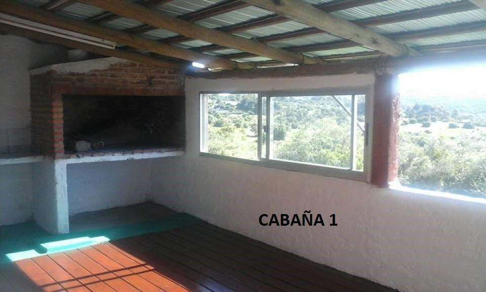 alquiler cabaña villa serrana (alojamiento)