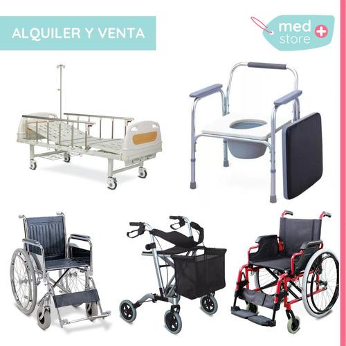 alquiler cama ortopédica, silla de ruedas, andadores y eleva